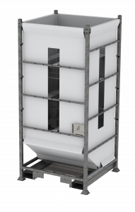 DFS150 - flexible silo system - full height - base outlet