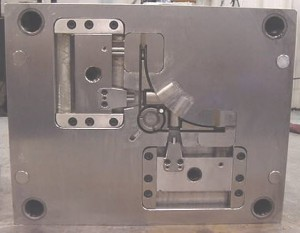 """""""B"""" side of die with side pull actuators"""