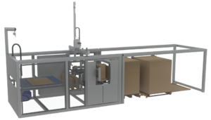 DPR200 - Cardboard pallet assembly robot