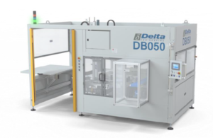 DB050 - Semi-automatic flexible bagger and tray packer