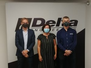 Visit of Consul @ Delta Engineering Inc