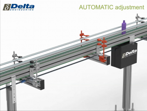 ASG - EASILY ADJUSTABLE SIDE GUIDES - AUTOMATICALLY OR MANUALLY